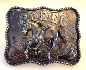 Rodeo Cow Boy Blet Buckle-Large-CowBoy Accessories-Western Ornaments-Unisex