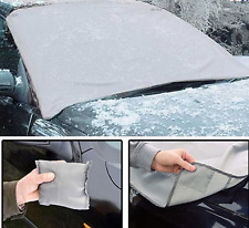 Magnetic Car Windscreen Cover Anti Frost Screen Protector Snow Dust Sun Shield
