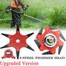 6 Steel Blades Razor 65Mn Lawn Mower Grass Eater Trimmer Head Brush Cutter