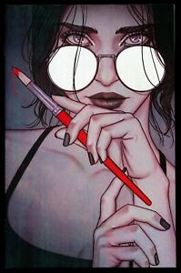 THE ME YOU LOVE IN THE DARK #1 JENNY FRISON VIRGIN VARIANT COVER LIMITED TO 500