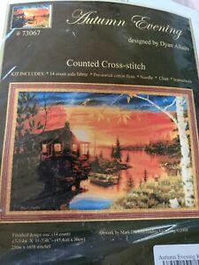 Autumn Evening Counted Cross Stitch