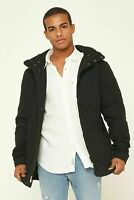 New Academy Brand Miller Jacket Cotton Nylon - Black - Men's Size Small