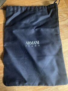 Armani Drawstring Sunglasses Bag. Navy Blue