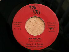 BUDDY B DI VITO & FABULOUS STORMS~RAVE ON~SOUL ~RARE~ DOO WOP 45