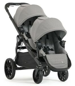 Baby Jogger City Select LUX Double Stroller in Slate Brand New!! Free Ship!