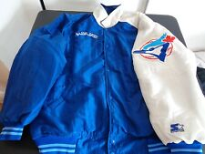 TORONTO BLUE JAYS Baseball STARTER Diamond Collection XXL Snap Up Puffer Jacket