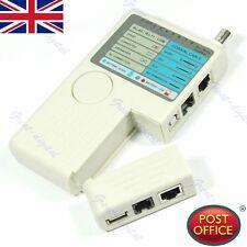 HOT Portatile remoto rj11 rj45 USB BNC CAVO DI RETE LAN Telefono Tester