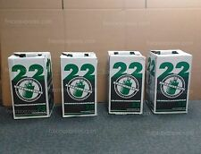 4-PACK of R-22 30LB REFRIGERANT | FACTORY FILLED & SEALED - IMMEDIATE SHIPPING