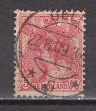 NVPH Netherlands Nederland 60 used Wilhelmina 1899-1921 TOP CANCEL DELFT