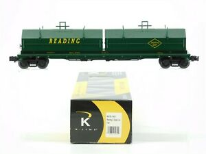 O Gauge 3-Rail K-Line K676-1931 RDG Reading Company Coil Car #99171 w/ Covers