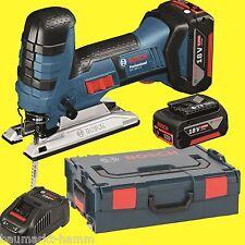 BOSCH Scie sauteuse à Batterie GST 18 V LI S + L-BOXX 6,0Ah 18 Volt Scie