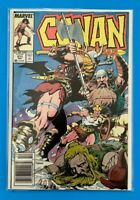 CONAN THE BARBARIAN VOL.1 #211 MARVEL COMICS 1988 VF+ (1970-1994) NEWSSTAND