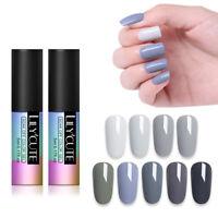 LILYCUTE 5ml Gray UV Gel Nail Polish Soak Off UV/LED Gel Nails  Salon