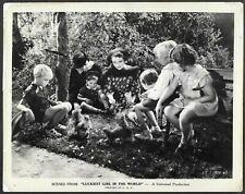 Jane Wyatt Original 1930s Promo Photo Luckiest Girl in the World Child Actors