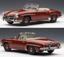 1:18 Autoart Millennium-Mercedes-benz 190sl rouge avec amovibles Softtop