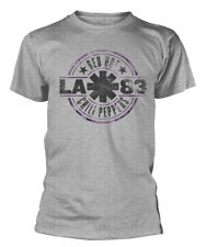 Red Hot Chili Peppers 'LA 83' (Grey) T-Shirt - NEW & OFFICIAL!