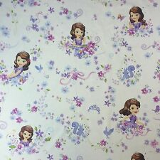 "Disney Novelty Designer Fabric Princess Petal Cotton Kids Children 55"" Wide"