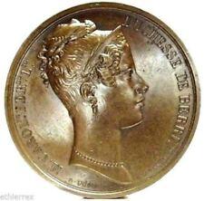 NAPOLI-DUE SICILIE (M.Carolina di Borbone) Medaglia 1825