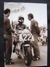 Photo Marlboro Yamaha YZR250 #22 Luca Cadalora (ITA) GP Sweden Anderstorp 1987 B