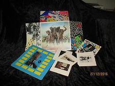 "Elvis Costello & the attractions: Armed forces/Gimmix Cover+postcards+ 7"" single"