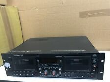 Tascam 302 Dual Cassette Deck Recorder (Used)