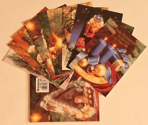 10 Weihnachtskarten Postkarte/Grusskarten/Weihnachten/ 10 versch. Motive *NEU*