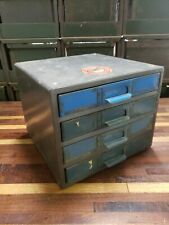 Vintage Simonsen Metal Products 4 Drawer Parts Bin Utility Cabinet industrial #2