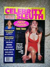 US Celebrity Sleuth Vol 7 No 6 JULY 1994 Madonna Sharon Stone Whitney Demi Moore