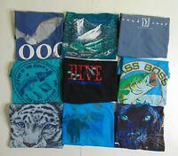Lot of 9 Vintage Single Stitch Graphic TShirts Women S/M USA Wholesale S/S 90s