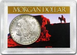 Morgan Silver Dollar Frosty Case For Secure Presentation & Display