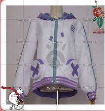 Anime Hyperdimension Neptunia Neptune Cosplay coat outfit jacket Costume Cloth