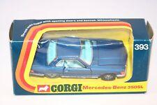 Corgi Toys 393 Mercedes - Benz 350SL blue perfect mint in box