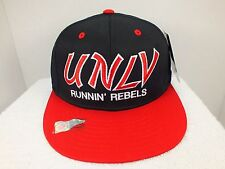 UNLV REBELS RETRO PLASTIC SNAPBACK HAT CAP NEW