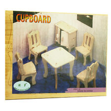 3d Wood Construction Puzzle Small - Cupboard