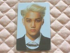 (ver. Kai) EXO-K EXO 2nd Mini Album Overdose Photocard K-POP Kim Jong In