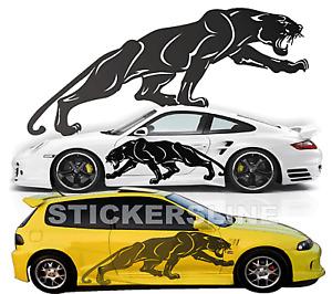 Adesivi auto tuning stickers decalcomanie PANTERA