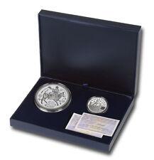 ESPAÑA: Estuche completo 10 y 50 euro plata 2012 proof  X ANIVERSARIO DEL EURO