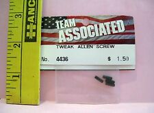 ASSOCIATED HOBBY R/C RADIO CONTROL #4436 TWEAK ALLEN SCREWS PARTS
