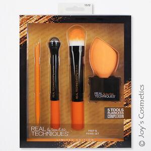 "1 REAL TECHNIQUES Prep + Prime Set Sponge & Tools ""RT-1572"" *Joy's cosmetics*"