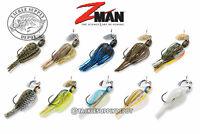 Z Man ChatterBait Project Z Bladed Swim Jig 1/2oz - Pick