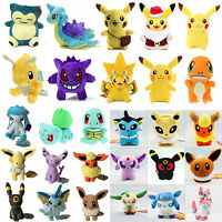 Rare Pokemon Go Pikachu Plush Doll Stuffed Soft Kids Gift Cute Collection Toys
