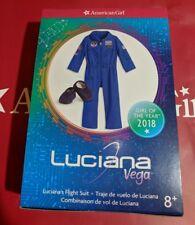 American Girl Luciana's Flight Suit Blue NASA NEW in BOX! Luciana Vega