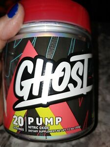 GNC Ghost Lemon Lime Pump Nitric Oxide 20 serv
