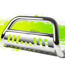 CHROME TUBING BULL BAR BUMPER GRILLE PUSH GUARD+SKID STAINLESS FOR 05-14 TACOMA