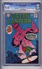 CGC (D.C) GREEN LANTERN  61 NM 9.4 (GOLDEN AGE APPEARANCE)1968 NICE COVER