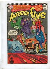 THE INFERIOR FIVE #1 (6.5) FIVE CHARACTERS IN SEARCH OF A PLOT!