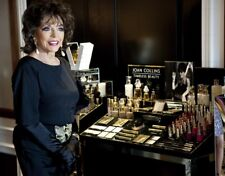 "JOAN COLLINS - 10"" x 8"" Promotional Photo TIMELESS BEAUTY Range 2015  #232"