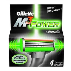 GILLETTE M3 POWER BLADES - BEST MACH3 SHAVE NEW
