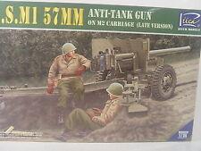 Us m1 - 57 mm Anti Tank Gun-riich 1:35 kit 35020 # e