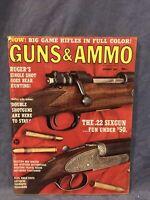 """Guns & Ammo January 1967 Magazine """"Ruger's Single Shot Goes Bear Hunting!"""
